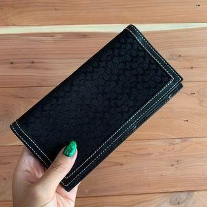 Coach Check Wallet